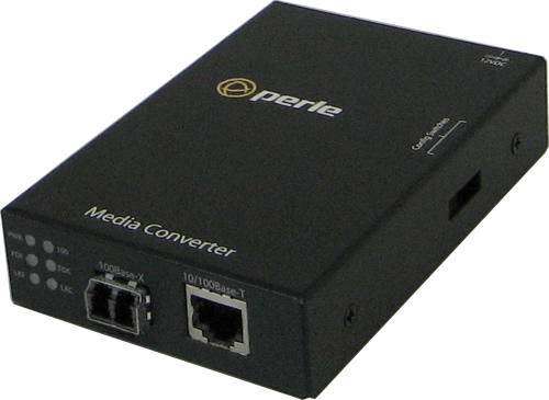 S-110-S2LC40 - 10/100 Fast Ethernet Stand-Alone Media and Rate Converter