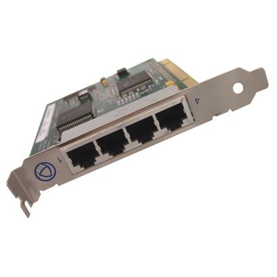 UltraPort4 Serial Card | RJ45 RS232 Serial Port Card | Perle