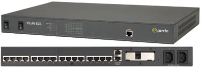 IOLAN SCS16C DAC - 16 x RJ45 connectors