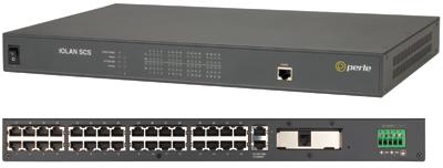 IOLAN SCS32C DC - 32 x RJ45 connectors