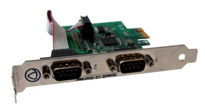 UltraPort2 Express Serial Card | RS232 Serial Port Card | Perle